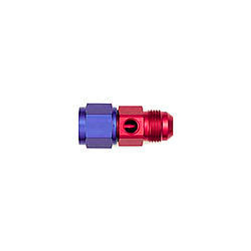 #10 to #10 Fem Fuel Pres Adapter w/ 1/8 NPT Port