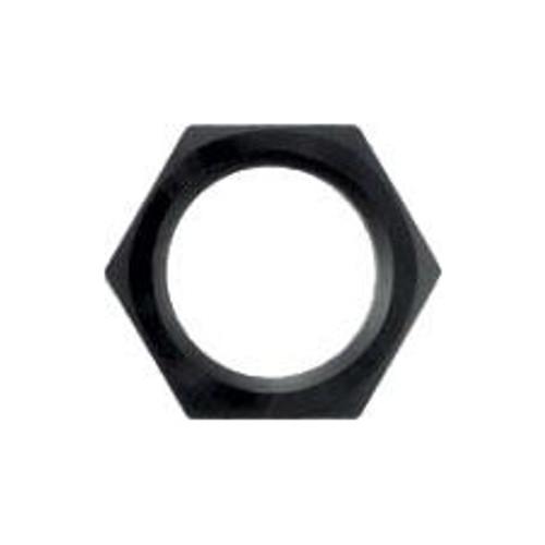 #6 Bulkhead Nut-Aluminum Black