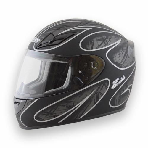 Helmet FS-8  Full Face Silver/Black X-Large DOT