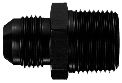 #16 to 3/4in Pipe Alum Adapter Black