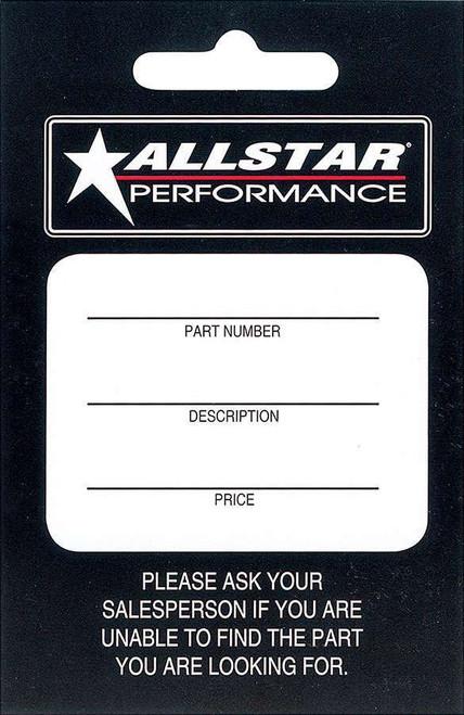 Allstar Hang Tag 100 Pack