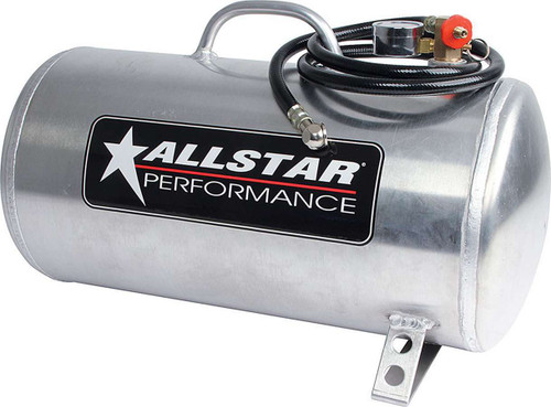 Aluminum Air Tank 9x20 Horizontal 5 Gallon
