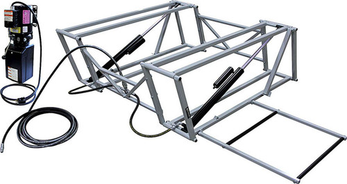 Race Car Lift with Steel Frame