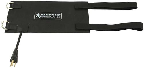 Black Heating Pad 6x12 w/Straps