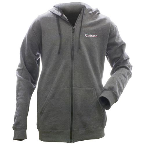 Allstar Full Zip Hooded Sweatshirt Charcoal L