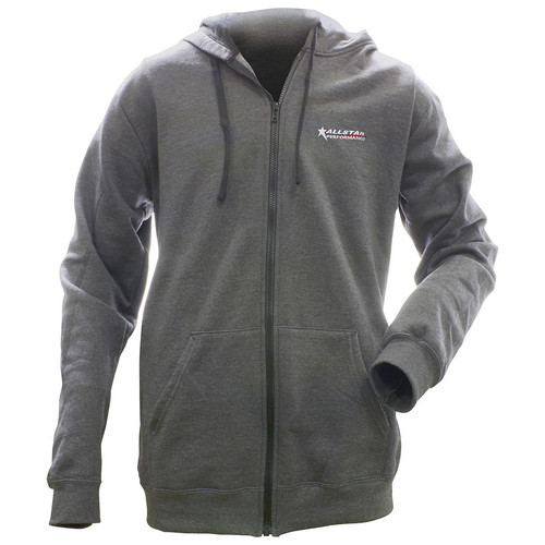 Allstar Full Zip Hooded Sweatshirt Charcoal XXXL