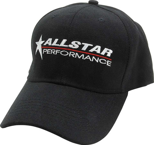 Allstar Hat Black Velcro Closure