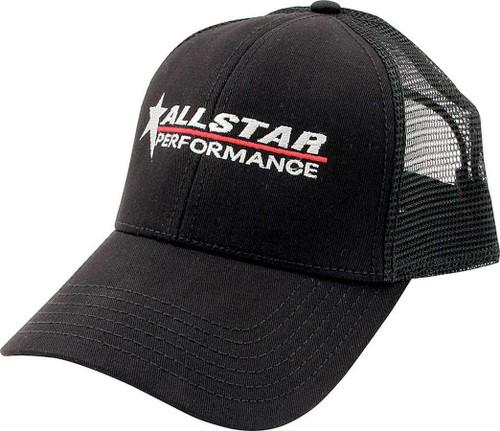 Allstar Hat Black Mesh Back Velcro Closure