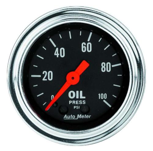 0-100 Oil Pressure Gauge