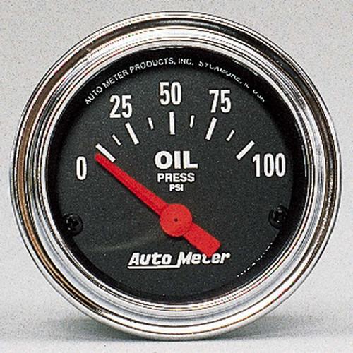 0-80 Oil Pressure Gauge