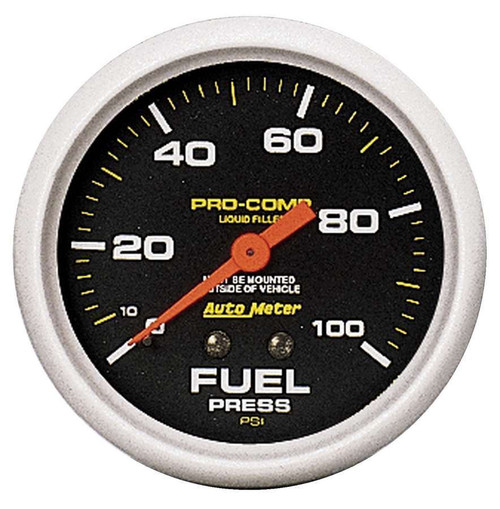 0-100 Fuel Pressure Gaug