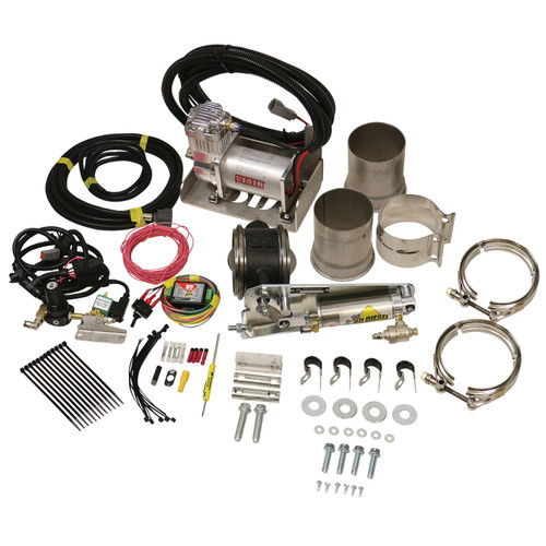 Exhaust Brake Universal 4in w/ Air Compressor