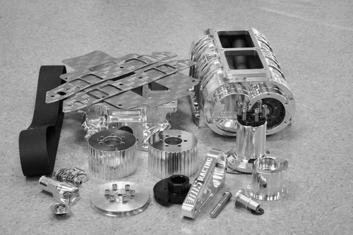 BBC 454 871 Blower Kit Polished