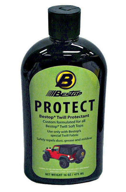 Bestop Protectant for Blk Twill Soft Top 16oz
