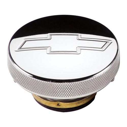 Radiator Cap 7lb Chevy Bowtie Polished
