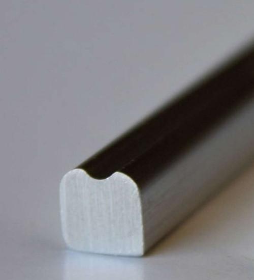 Aluminum Trim Grooved 6 Ft.