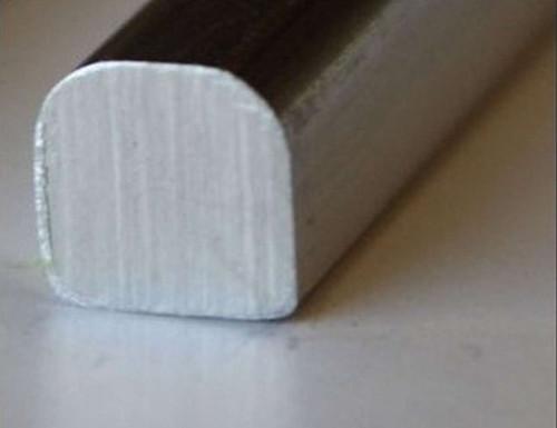 Aluminum Trim Smooth 6 Ft.