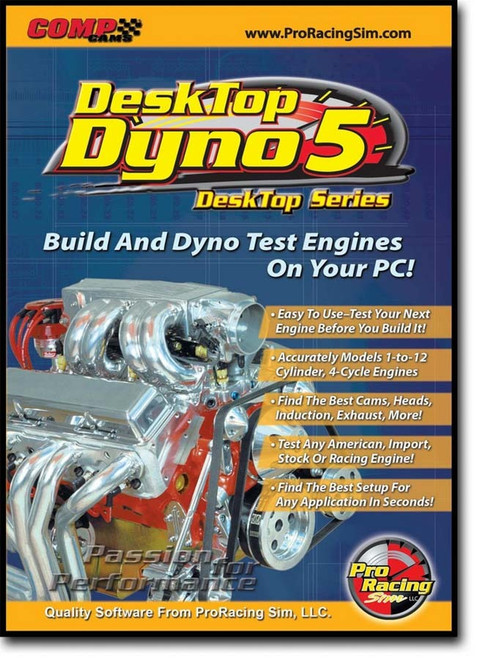 Desktop Dyno Engine Simulator