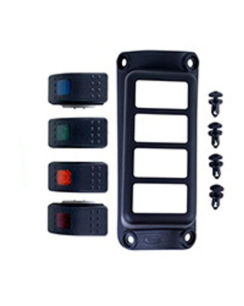 07-17 Jeep JK A-Pillar Switch Pod w/ 4 Switches