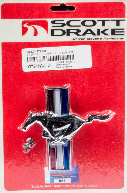 2005-12 Mustang Running Horse Grille Emblem
