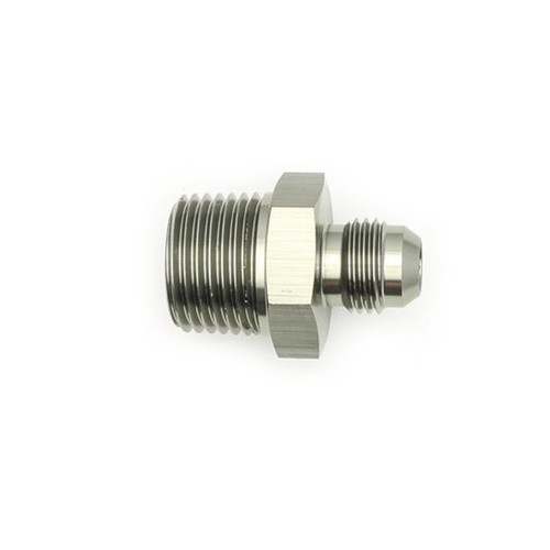 #6 Male Flare to 1/2-NPT Male Adapter Fitting