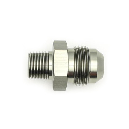 #8 Male Flare to 1/4-NPT Male Adapter Fitting