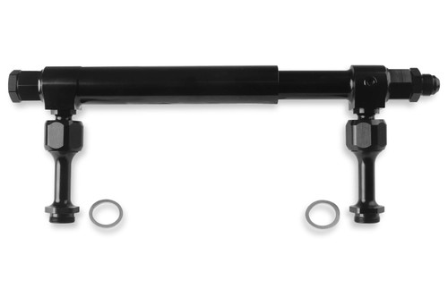 #8an Adj. Fuel Log - Billet Aluminum Black