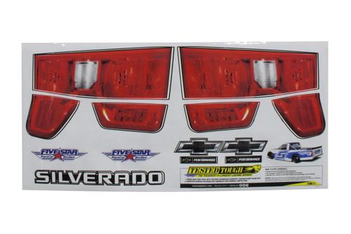 2019 Chevy Silverado Tail ID Graphics Kit