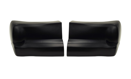 00 Monte Carlo Bumper Cover Black Plastic