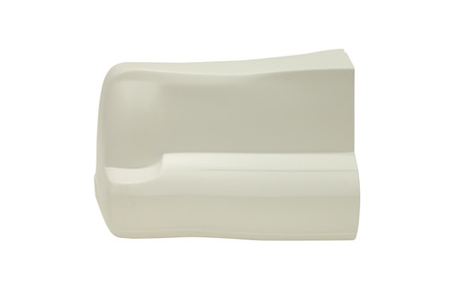 00 M/C Bumper Cover White Left Side Only