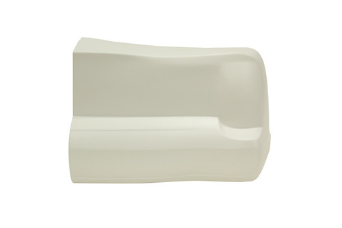 00 M/C Bumper Cover White Right Side Only