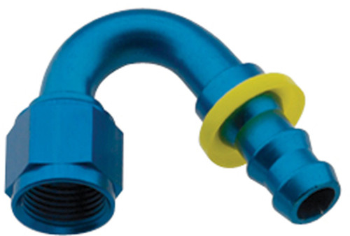 Hose Fitting #16 150 Deg Push Lock