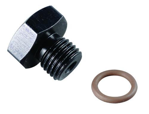 #8 Port Plug 3/4-16 Black