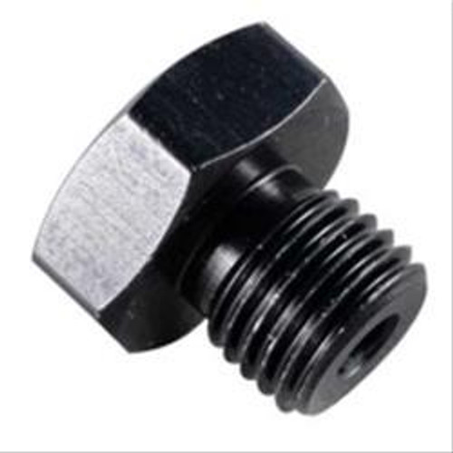 #8 Port Plug 3/4-16 Black w/ 1/8 FPT Port