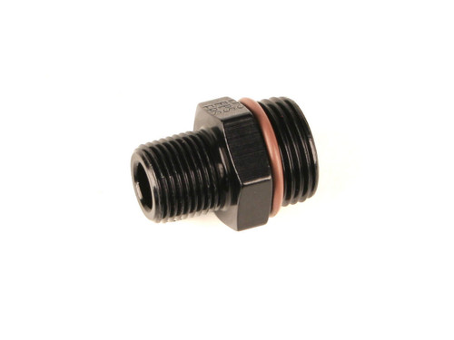 #10 ORB x 3/8 MPT Adapter Fitting Black