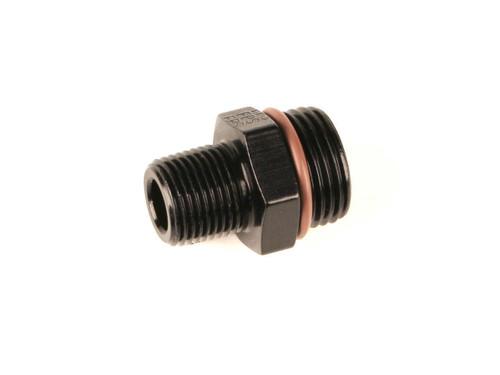 #10 ORB x 1/2 MPT Adapter Fitting Black