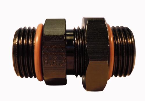 #10 ORB x #10 ORB Adapter Fitting  Black