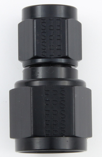 #8 x #10 Female Swivel Connector Black