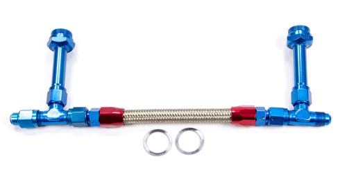 #6 Fuel Line Kit 7/8-20 Dual Inlet 4150