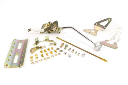 12in 700-R4 Shifter w/ Brushed Alum. Mush. Knob