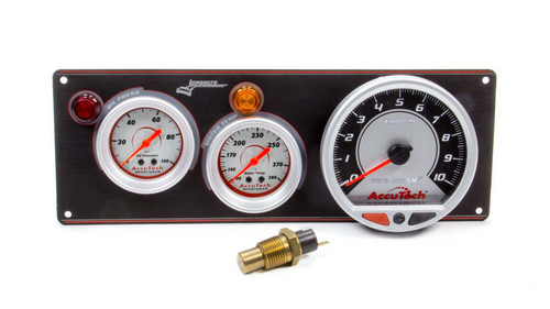 2 Gauge Panel Sportsman Black w/Tach WT/OP