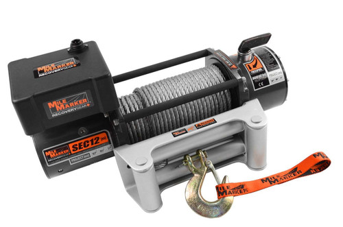 12000lb Winch w/Roller Fairlead & 12' Remote