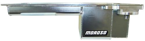 GM LS 6qt Steel Oil Pan w/Oil Filter Adapter