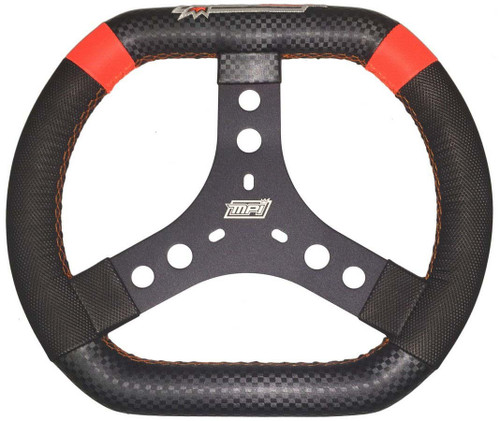 12in 3-Bolt Aluminum Oval Wheel High Grip