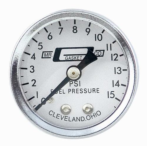 Fuel Pressure Gauge 0-15