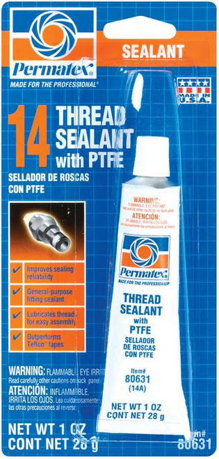 1 Oz White Thread Sealan