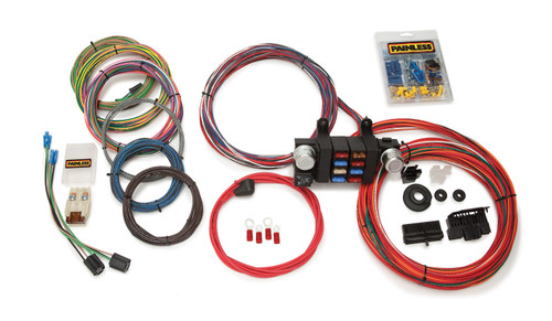 18 Circuit T-Bucket Wiring Harness