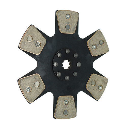 1000 series Clutch Disc 6-paddle 11 x 1 3/16