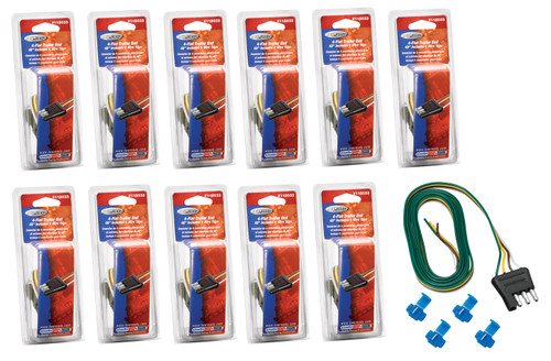 4-Flat Trailer End Conne ctor 48in Long (12 pack)