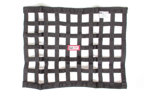 Black Ribbon Window Net 18x24
